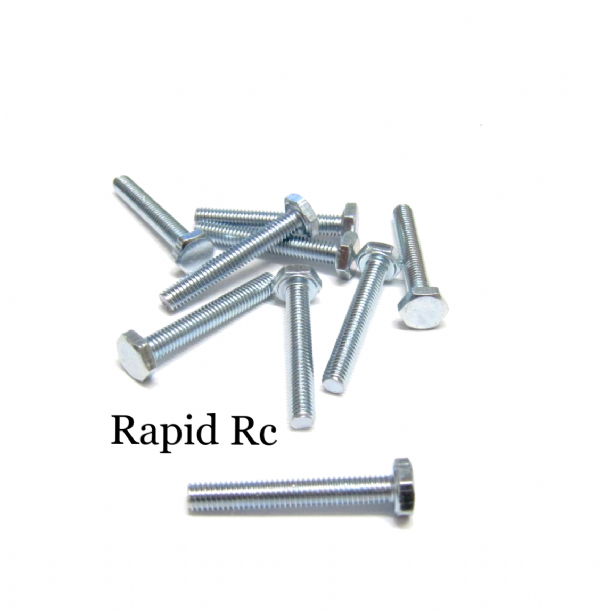 M3 x 20mm Hex Head High Tensile Hex Bolts